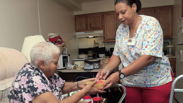 Home-Care Workers and the Future of Health Care - The Atlantic