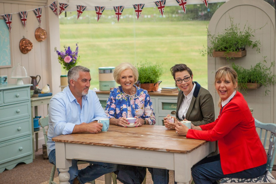 Paul Hollywood Mary Berry Sue Perkins and Mel Giedroyc Love Productions  sc 1 st  The Atlantic & The Great British Bake Offu0027 Is Falling Apart as Mel Giedroyc and ...