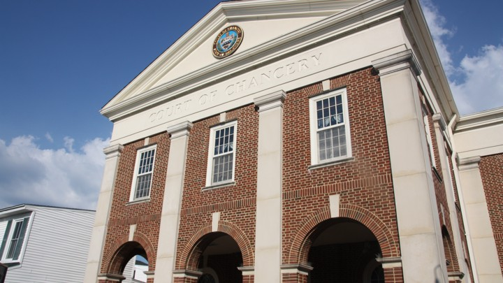 The Court of Chancery in Georgetown, Del.