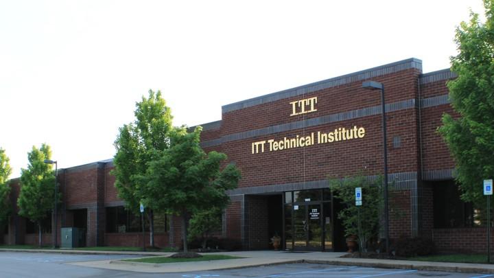 An ITT Technical Institute campus in Michigan