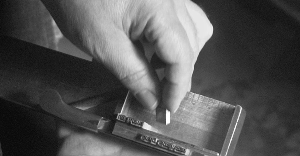 Printmaking, Typesetting, and the Space Between Words - The