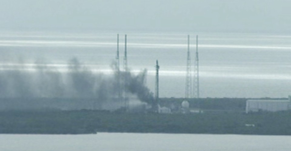What Happened to SpaceX's Falcon 9? - The Atlantic
