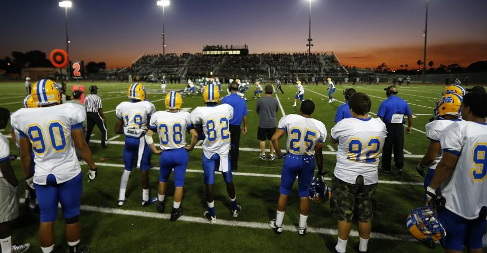 american football and high school essay