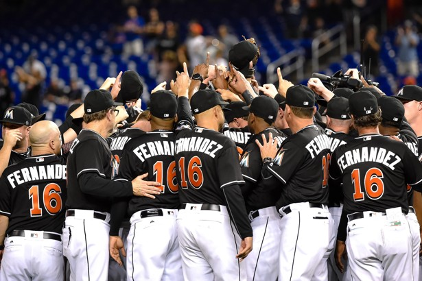 Image result for Marlins honor Jose