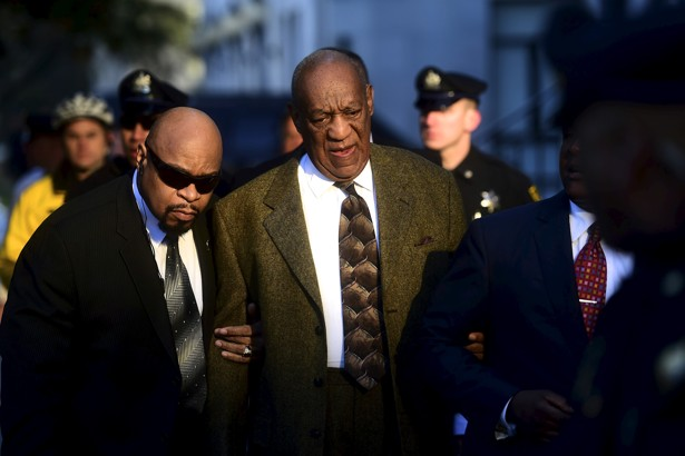 Actor and comedian Bill Cosby arrives for a preliminary hearing on sexual assault charges at the Montgomery County Courthouse in Norristown, Pennsylvania, in February 2016.