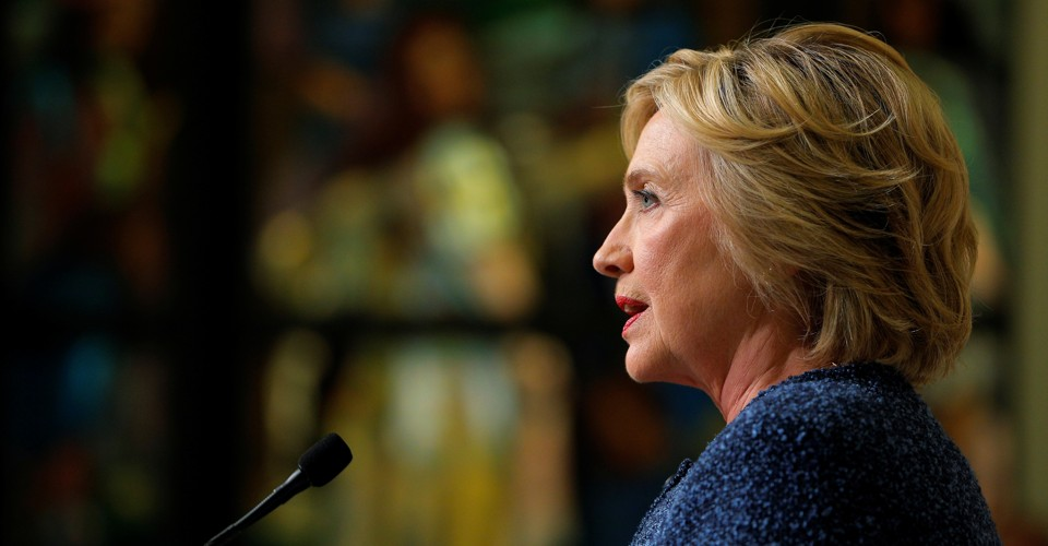 Why the Media Didn't Bother to Verify if Hillary Clinton's