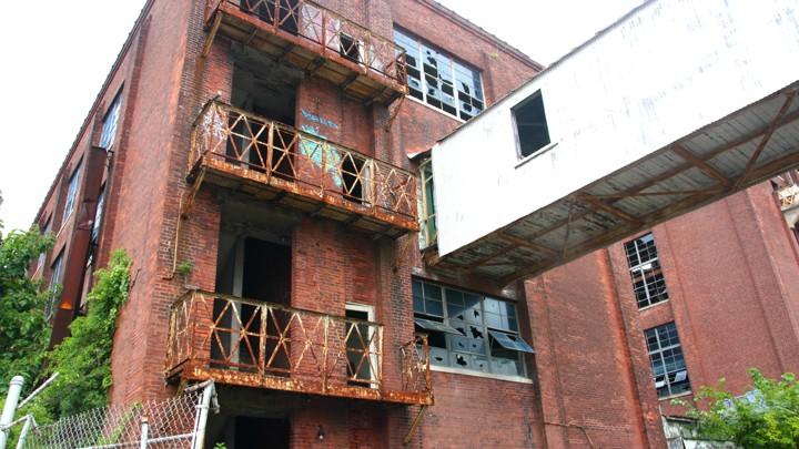 An abandoned factory in Bridgeport