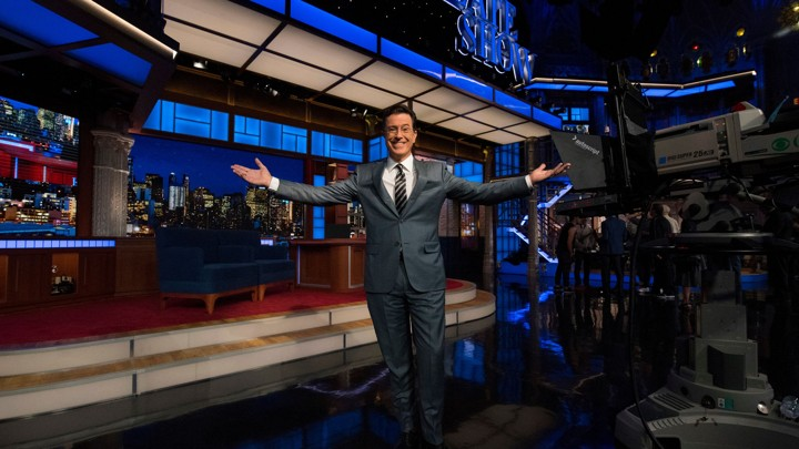 the late show with stephen colbert episode 1 youtube