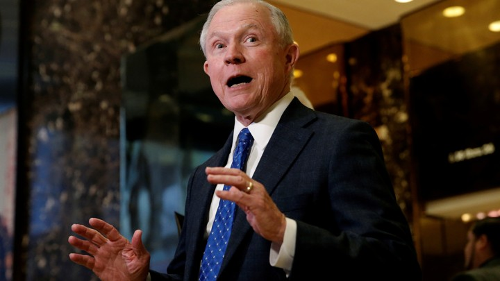 Why Donald Trumps Pick For Attorney >> Jeff Sessions Is Trump S Pick For Attorney General The Atlantic
