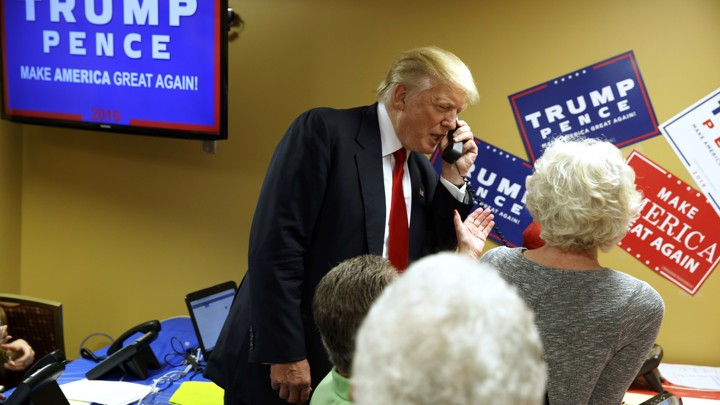 The Atlantic Politics & Policy Daily: The One Where Trump Calls