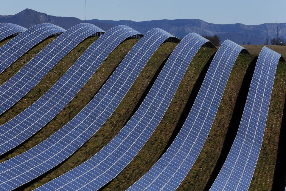The solar power industry is historically carbon negative for Solar ranch