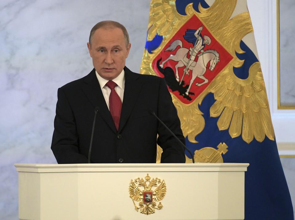 How Vladimir Putin Is Making The World Safe For Autocracy Reuters Via Sputnik