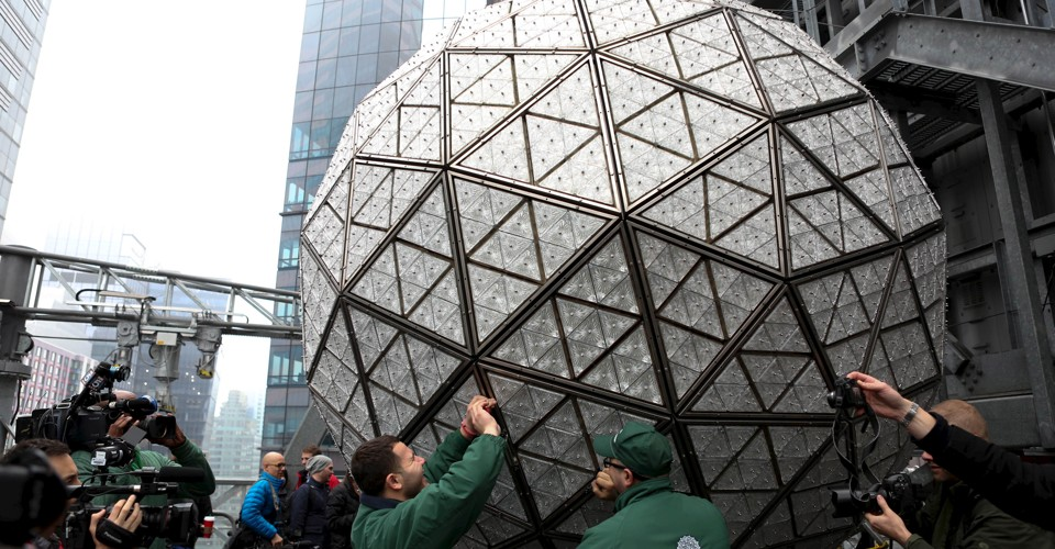 Image result for times square crystal ball