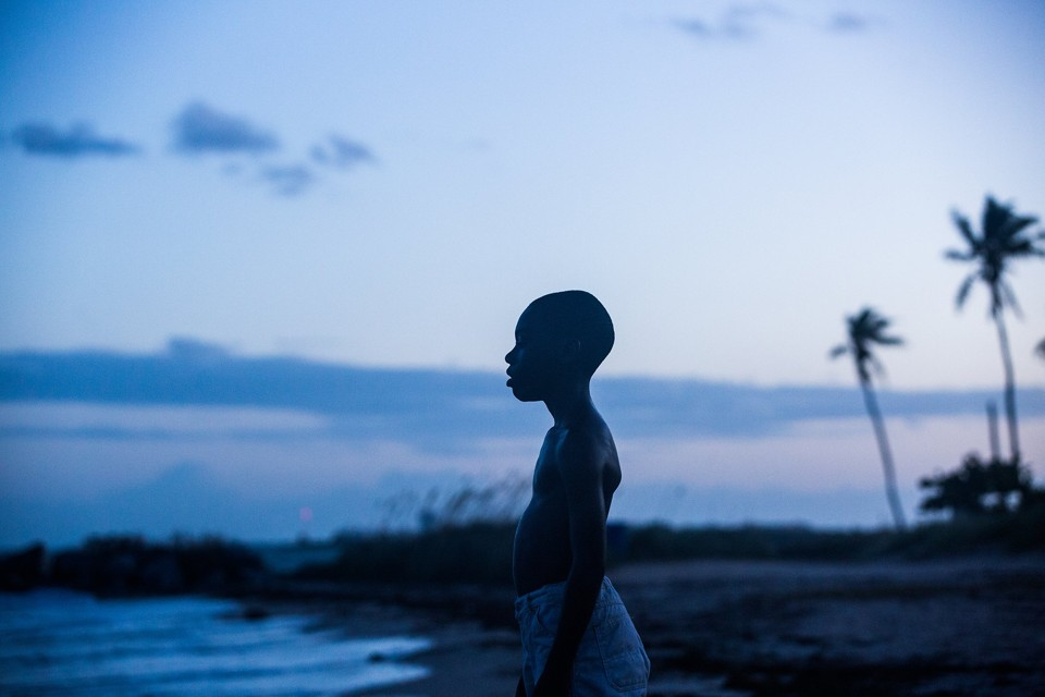 A still from Moonlight, nominated for six Golden Globes this morning A24