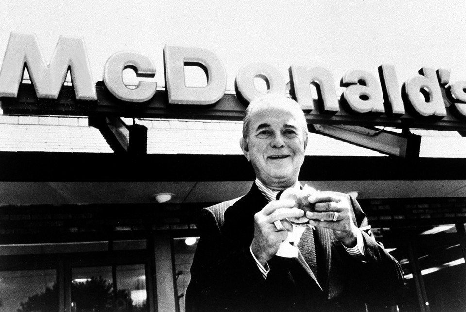 ray kroc story In a new movie, the founder, the story of how mcdonald's came to be is told  and we learn the real story of ray kroc, the traveling salesman.