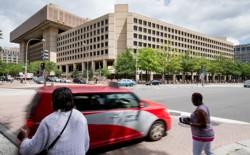 The J. Edgar Hoover building, the FBI headquarters