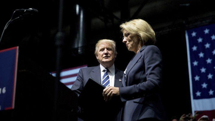 Trumps Education Secretary Pick Led >> Can Betsy Devos Apply Her School Choice Beliefs As Secretary The