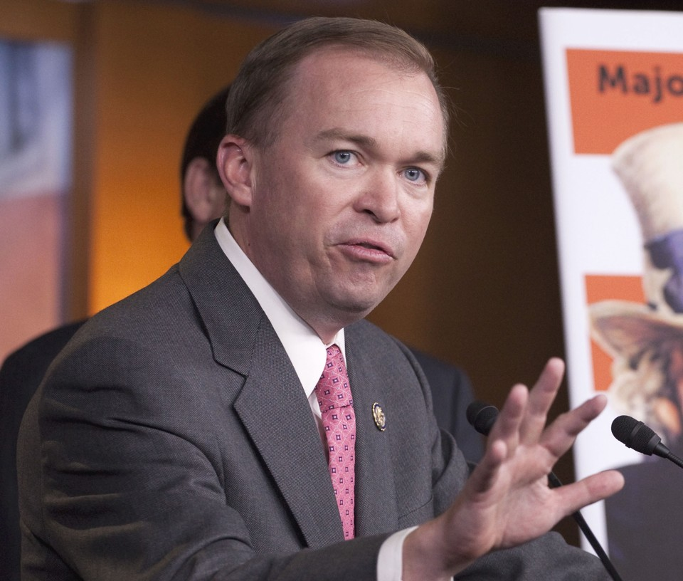 Mick Mulvaney Assailed Over Tax Issue