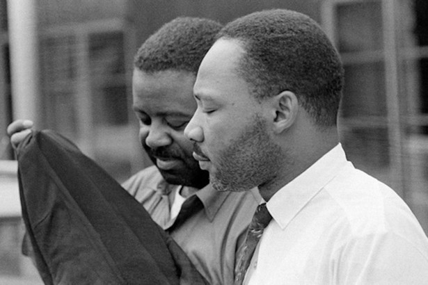 martin luther king jr s letter from birmingham jail the atlantic martin luther king jr and ralph abernathy background leave birmingham city jail following their release on 20 1963 after eight days of