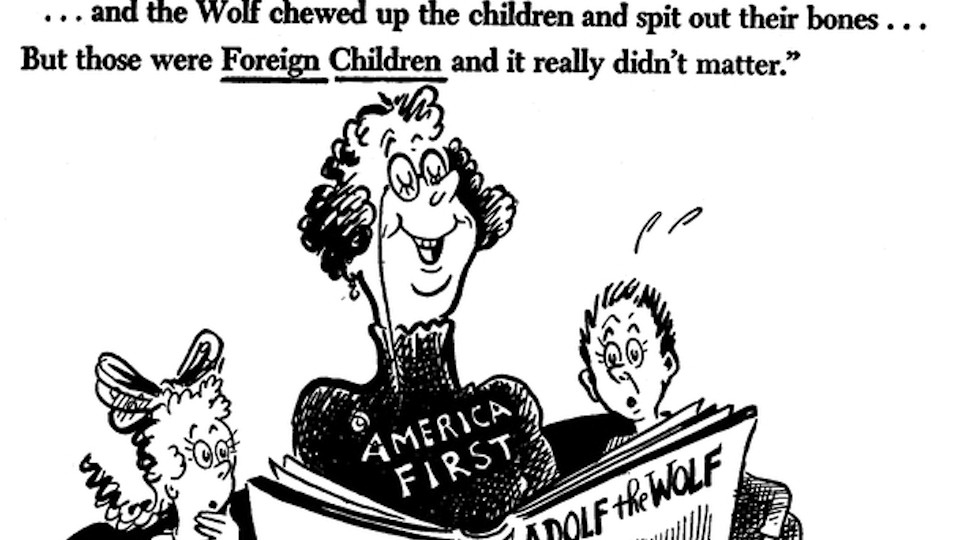 The Complicated Relevance of Dr. Seuss's Political