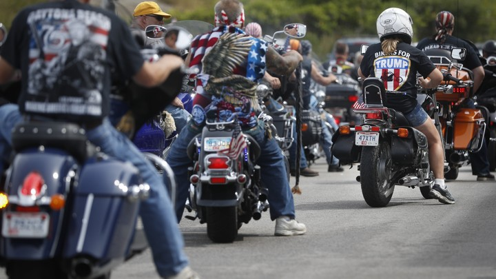 Anticipating Protests Harley Davidson Cancels A Visit From Trump