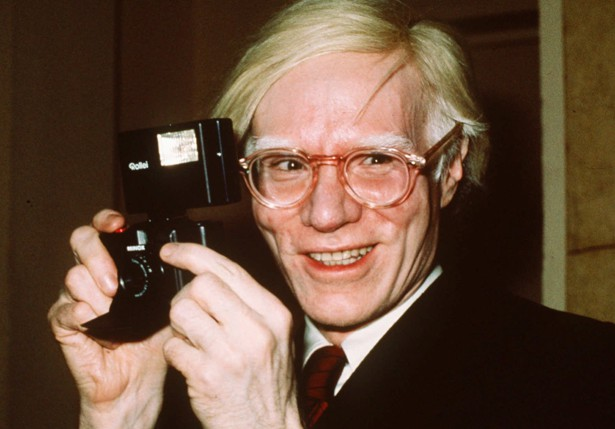Andy Warhol in 1976