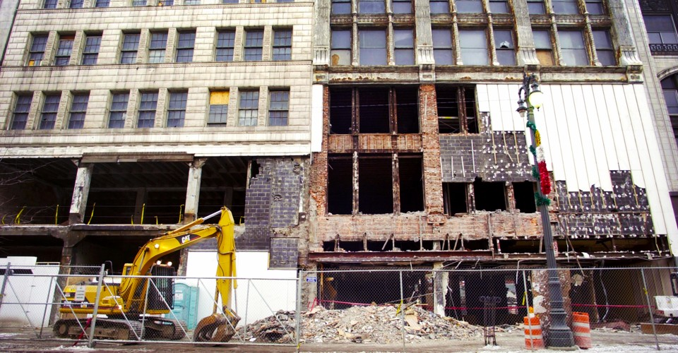 The Steady Destruction of America's Cities