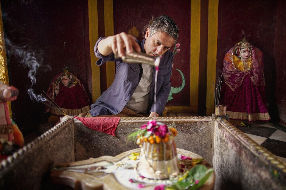 Reza Aslan in the premiere of Believer, which focuses on a Hindu sect in India