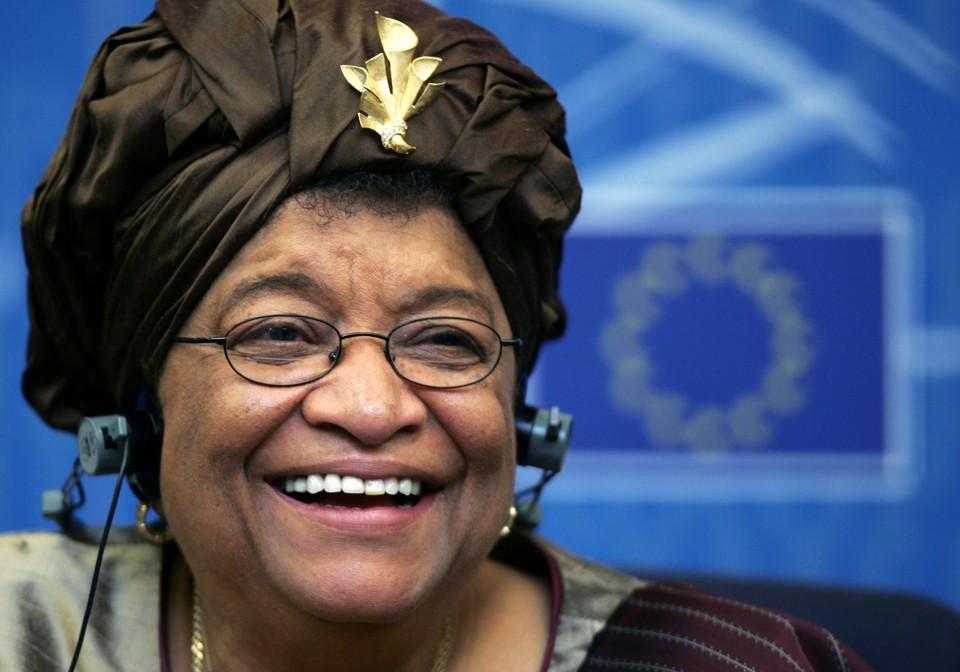 President Ellen Johnson-Sirleaf of the Republic of Liberia