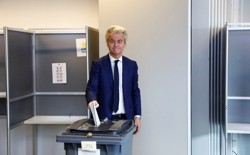 Far-right Dutch politician Geert Wilders