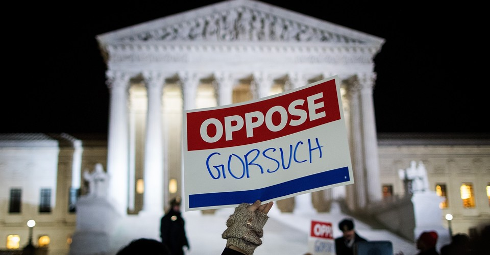 photo image Why Are Democrats Holding Back on Gorsuch?