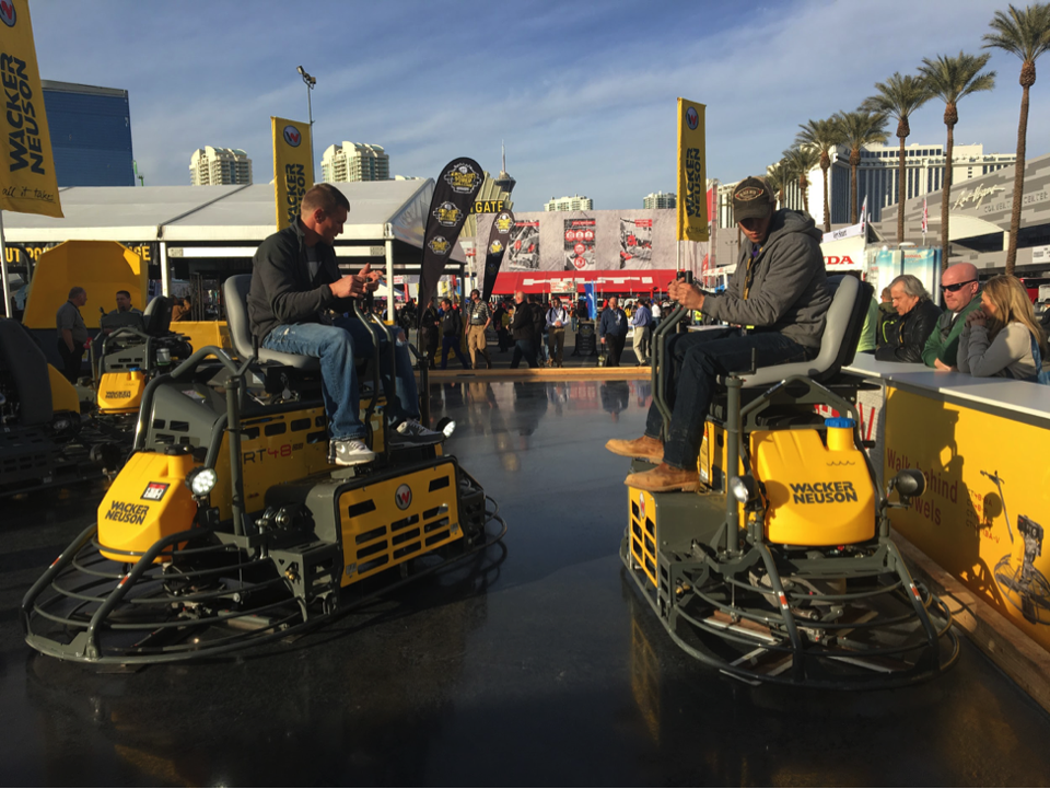 World Of Concrete Inside The Industry That S Building