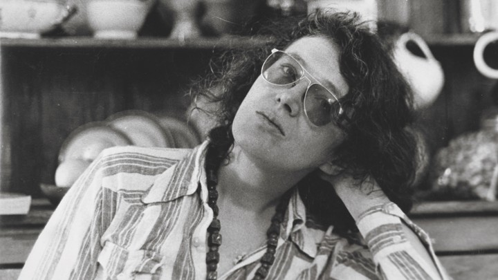 Angela Carter, pictured in the early 1970s