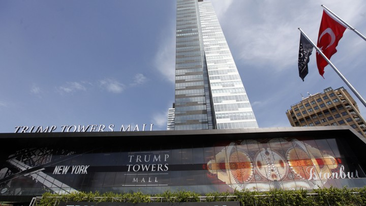 Trump Towers in Istanbul