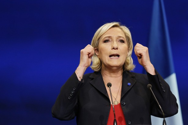 Marine Le Pen, French National Front (FN) political party leader and candidate for the French 2017 presidential election