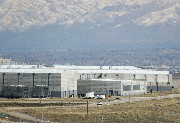 The National Security Agency's data center in Bluffdale, Utah