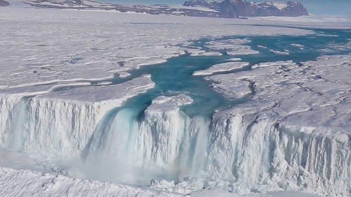 Antarctic Scientists Go Chasing Waterfalls The Atlantic