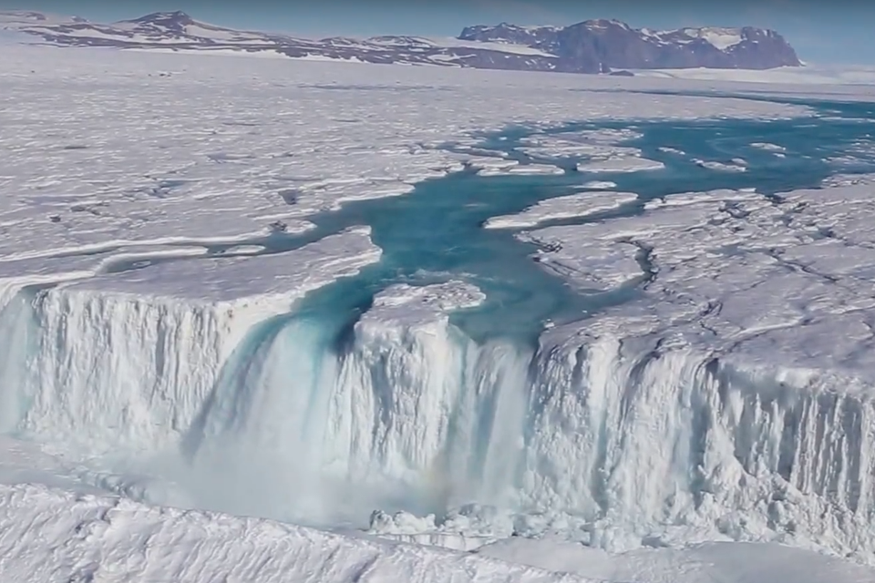 Antarctic scientists go chasing waterfalls the atlantic for Can you go to antarctica