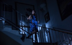 Rosario Dawson in a still from <em>Unforgettable</em>