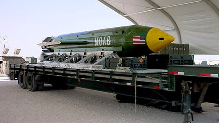 Why Did the U S  Use the 'Mother of All Bombs' in