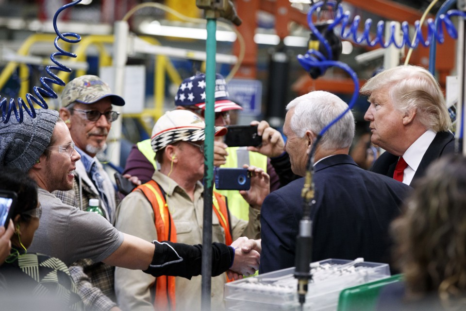 Resultado de imagen de trump working class
