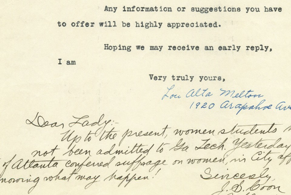 Historic Rejection Letters To Women Engineers - The Atlantic