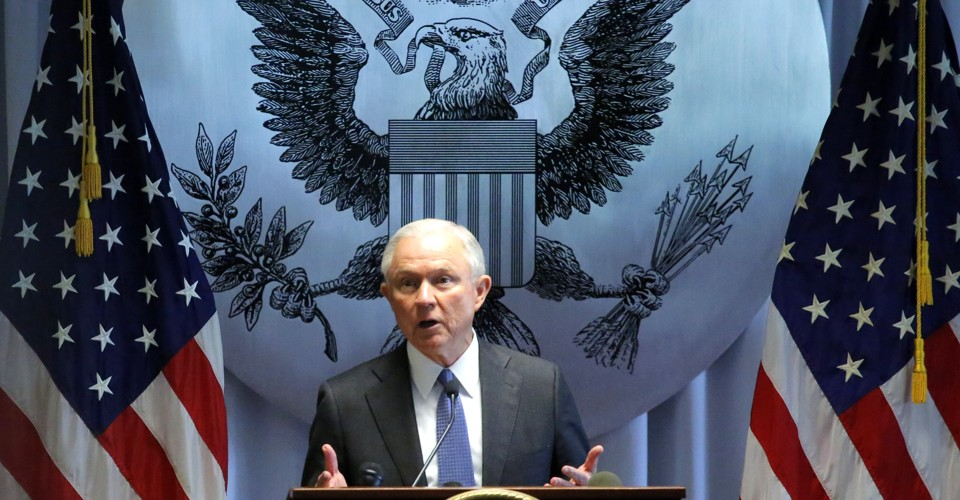 The U.S. attorney general is bringing back the harshest sentences for low-level drug offenses, rejecting Obama-era reforms.
