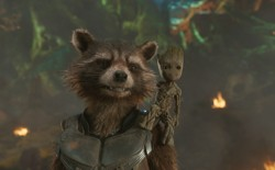 Rocket and Groot in a still from <em>Guardians of the Galaxy Vol. 2</em>