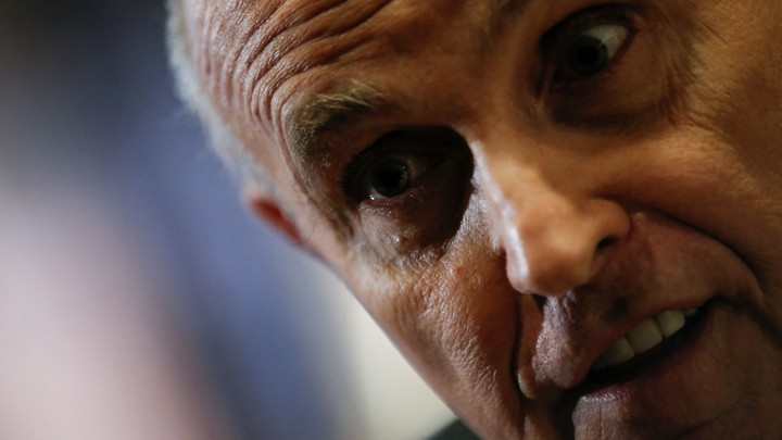 Image result for Giuliani wanted to be FBI Director