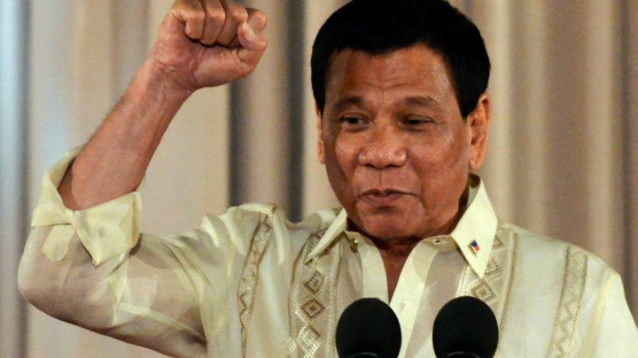 Philippine President Duterte