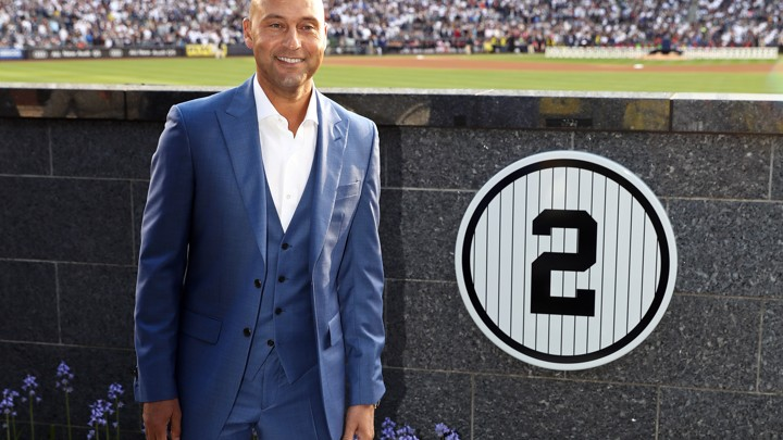 derek jeter childhood biography