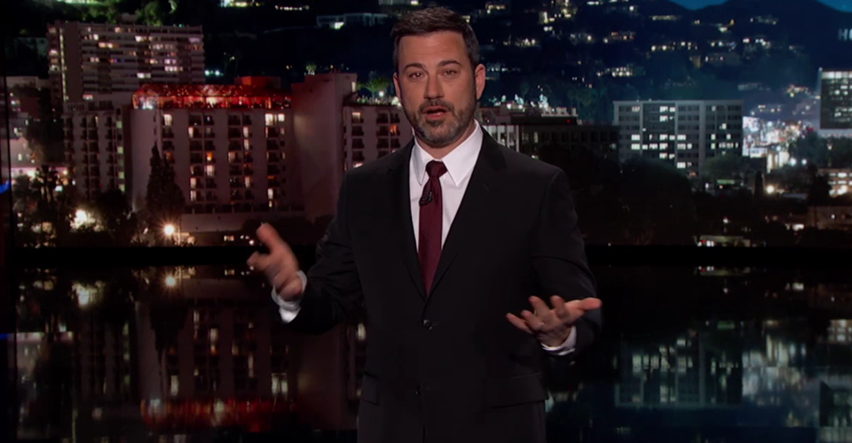 An Unusually Personal Monologue From Jimmy Kimmel - The ...