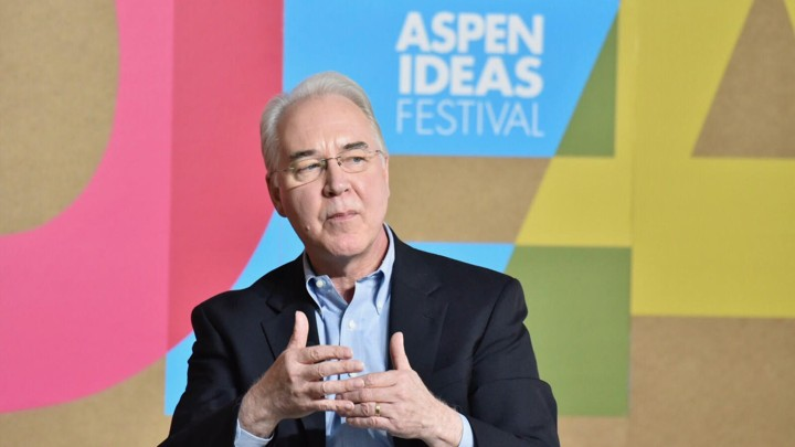 Tom Price, the Secretary of Health and Human Services, speaks at the Aspen Ideas Festival