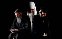 A Christian monk, a Muslim woman, and an Orthodox Jewish man